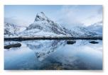 Poster Berg med Snö