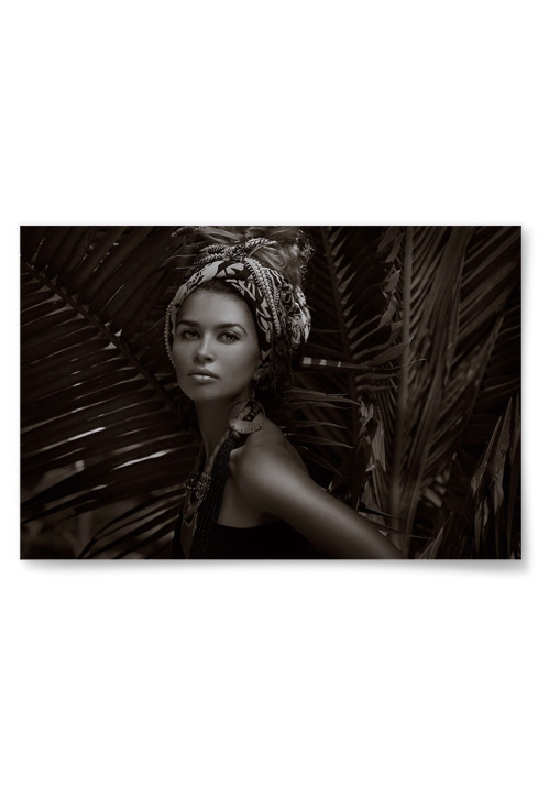 Poster Exotisk Kvinna