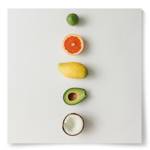 Poster Exotiska Frukter