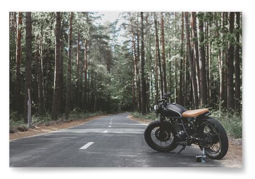 Poster Motorcykel