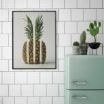 Poster Delad Ananas