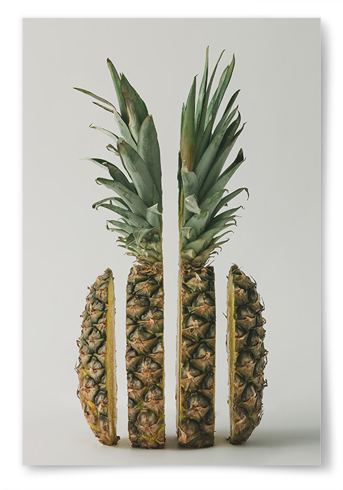 Poster Delad Ananas