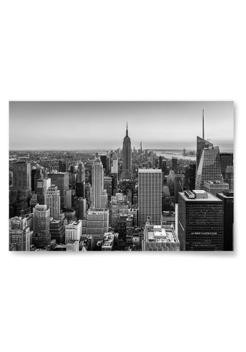 Poster Unbeatable View Black & White