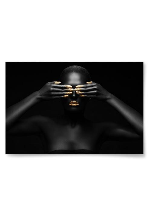 Poster Gold-n' Black 4