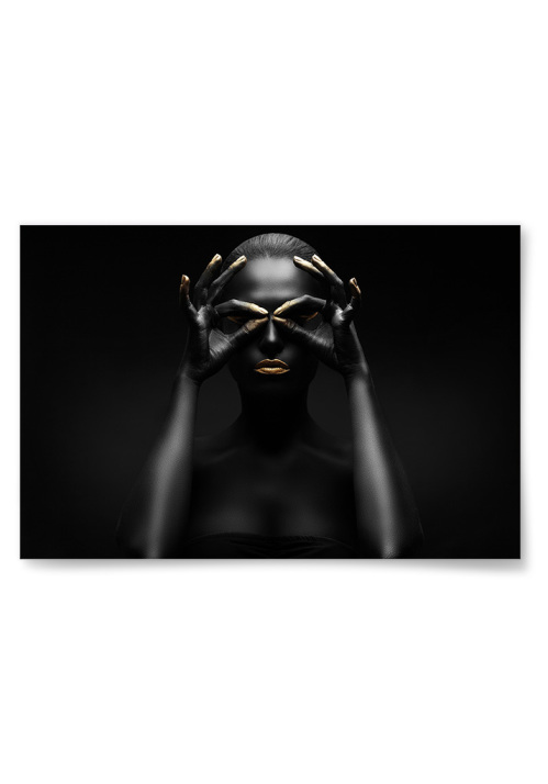 Poster Gold-n' Black 5
