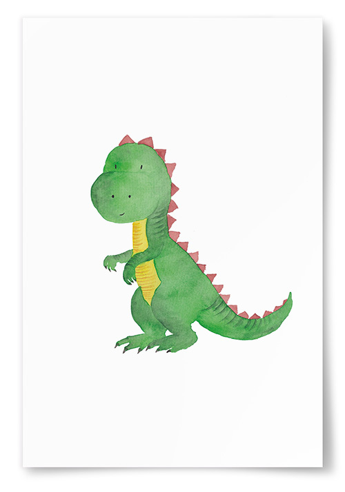 Poster Dinosaurie Roxie