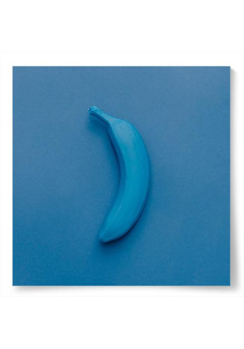 Poster Blå Banan