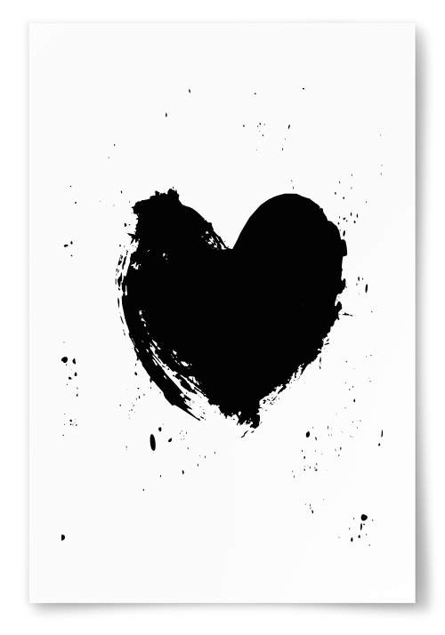 Poster - Hjärta - 13x18 thumbnail
