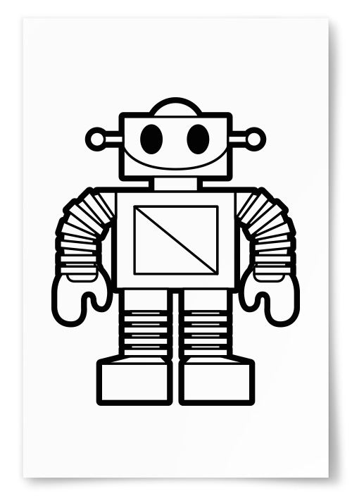 Poster - Robot - 50x70 thumbnail